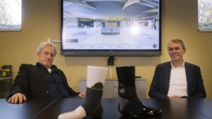 Netwerken in een digitaal beurstheater; NEA International uit Beek heeft zelfs gedacht aan een afsluitende borrel