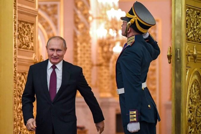 Russiche president Vladimir Poetin is ook na afloop van zijn ambtstermijn onschendbaar