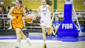Basketbalster Kiki Fleuren bij Oranje: 'Pas na mijn eerste speelminuten hoor ik er echt bij'