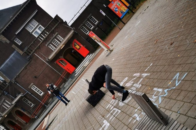 Krijtactie tegen Zwarte Piet in Weert: 'Het heeft er nog geen kwartier opgezeten'