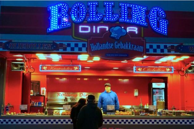 Hollandse gebakkraam Rolling Diner strijkt neer in Treebeek
