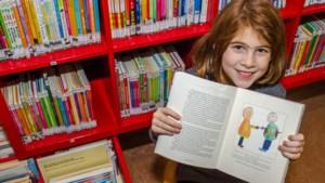 'Bloederige' tekening van Michelle (7) geeft boek van bestsellerauteur J.K. Rowling een Roermonds tintje