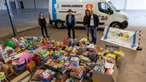 Inzamelingsactie van speelgoed voor kinderen door Smile Heerlen