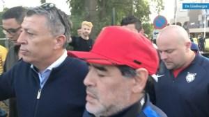 Video: 'Circus Maradona': 'Mijn dag is goed, ik heb hem van dichtbij gezien'