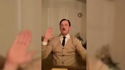 Excuses politicus uit Weert na imiteren Hitler in filmpje