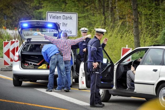 Veel boetes tijdens grenscontroles Sittard en Tudderen