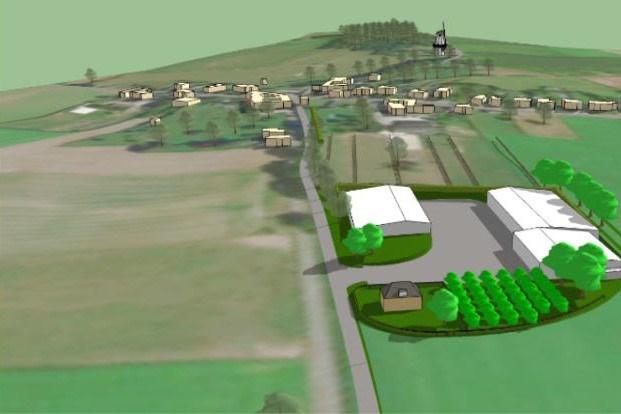 Experts kijken mee bij uitwerken van plan voor 'boerderij van de toekomst' in Trintelen