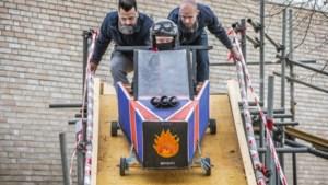 Vmbo'ers van het Horster Dendron College maken én racen met zeepkisten en ontdekken zo of techniek hun ding is