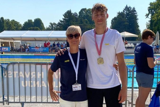 Hoe een Roermondenaar zwemkampioen in Kroatië werd