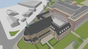 Forse problemen rond bouw Chinese hotelkolos in Sittard: mes in miljoenenproject