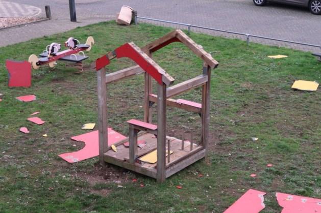 Speelhuisje in Stramproy midden in de nacht opgeblazen: 'Gigantische ontploffing'