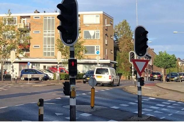 Verkeershinder tijdens vervangen verkeerslichten in Landgraaf