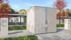 Maastricht bedrijf ontwikkelt urnenkubus voor begraafplaats Tongerseweg