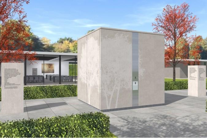 Maastrichts bedrijf ontwikkelt urnenkubus voor begraafplaats Tongerseweg