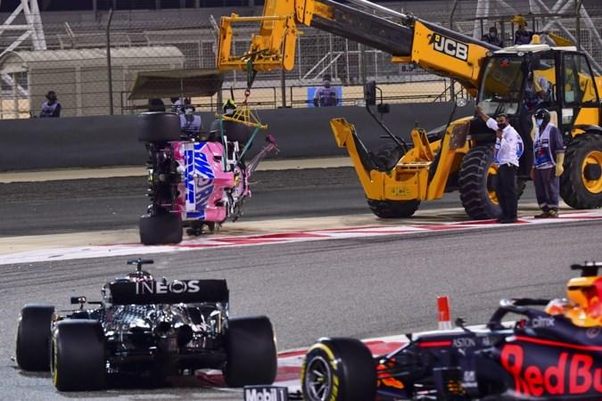 In schaduw van crash Grosjean is Verstappen volop in race voor plek twee in het WK