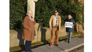 Rabobank doneert 1000 euro voor restauratie van vaandel Mijnwerkersbond Lindenheuvel