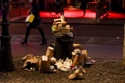 Het is drukker en er wordt vaker gebruikgemaakt van afhaalmaaltijden: Maastricht kan toenemende afvalstroom niet bijbenen