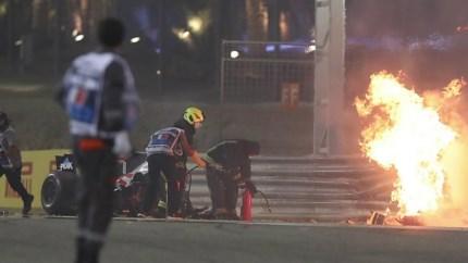 Podcast: Crash Grosjean is besefmoment hoe gevaarlijk de sport kan zijn
