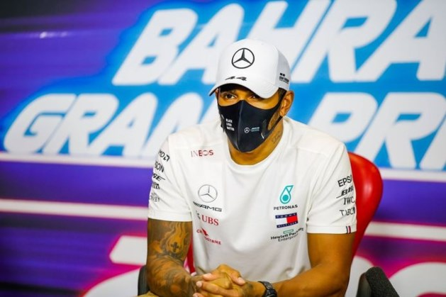 Wereldkampioen Lewis Hamilton mist Grote Prijs van Sakhir na positieve coronatest