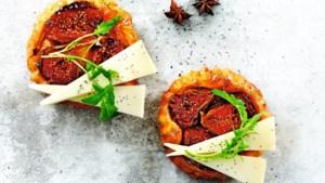 Kerstdiner van Janneke Philippi: tarte tatin, een klassiek voorgerecht met een moderne twist