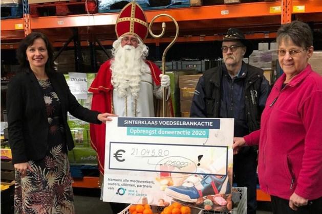 Sinterklaasactie voor kinderen Voedselbank Zuid-Limburg levert 25.000 euro op