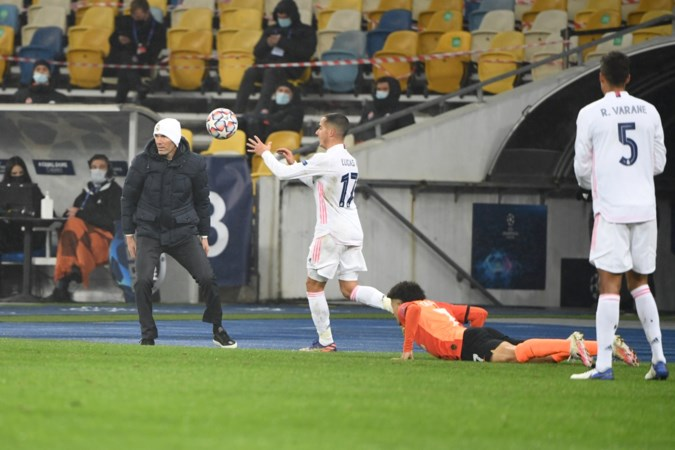 Druk op Zidane neemt toe na nieuwe flater Real Madrid tegen Sjachtar Donetsk