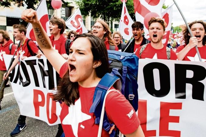Rode activisten sporen SP-jeugd aan tot 'transformatie' naar communisme, partijraad besluit over toekomst jongerenafdeling