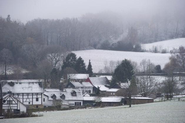 Valt zondag de eerste (natte) sneeuw van het jaar?