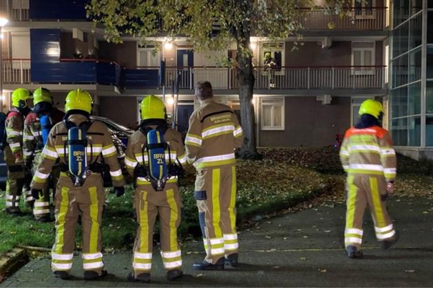 Meerdere bewoners geëvacueerd na brand in flat