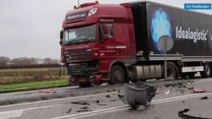 Man komt om het leven na aanrijding met vrachtwagen