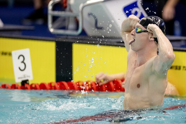Thom de Boer grijpt Nederlands record op de 50 meter vrije slag een ticket voor de Olympische Spelen