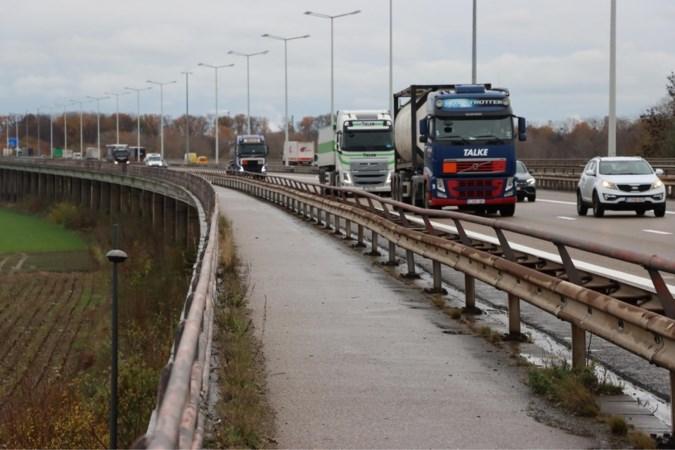 Vlaamse overheid trekt zestien miljoen uit voor opknapbeurt Maasbrug tussen Maasmechelen en Stein