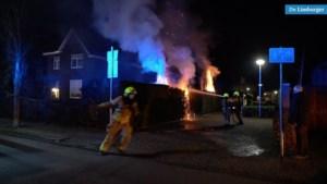 Video: Twee buitenbranden kort na elkaar in Weert