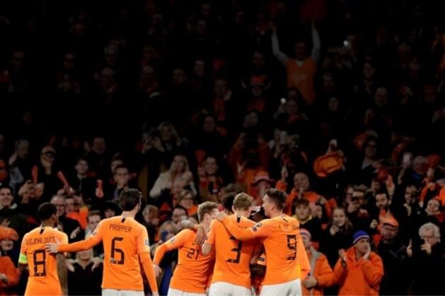 Oranje in WK-kwalificatie onder meer tegen Turkije en Noorwegen