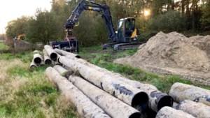 Relict uit de Koude Oorlog uitgegraven: kerosineleiding langs de Duitse grens weggehaald
