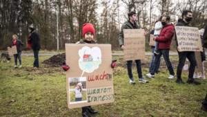 Stil protest van asielzoekers als noodkreet tegen slepende procedures