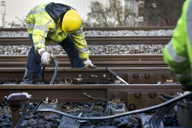 Spoorwerkzaamheden van Kerkrade tot Landgraaf begin januari