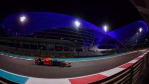 Verstappen derde in tweede training Grote Prijs van Abu Dhabi