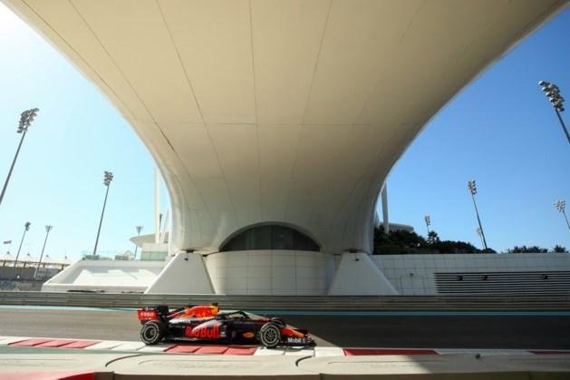 Verstappen snelste in eerste training Grote Prijs van Abu Dhabi