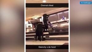 Video: Lang niet iedereen heeft door dat filmpje van 'overval' op Steins restaurant opname is voor videoclip