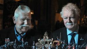 Wapenbroeders leveren met tinnen maquette van Gouden Koets een huzarenstukje van formaat