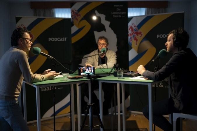 Harry Rouschop uit Sint Geertruid en Ruud Kleinen uit Landgraaf promoten het dialect met podcastserie in het Limburgs