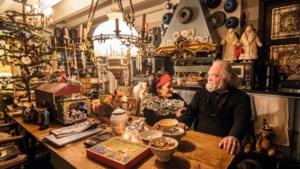 In drie weken had Miny haar huis in Haelen ingericht met een dertig jaar oude brocante- en antiekverzameling
