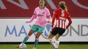 Jarige Lieke Martens schittert ook in Barcelona tegen PSV: opnieuw 4-1