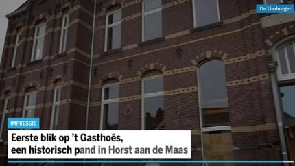 Kleine (digitale) rondleiding door het nieuwe Gasthoês in Horst