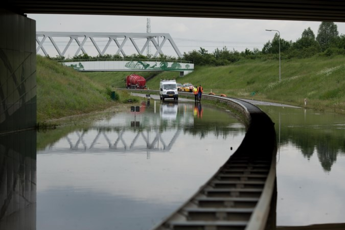 Nusterweg Sittard half dicht voor maatregelen tegen wateroverlast op N297