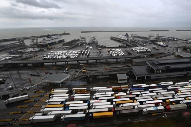 'Honderden Nederlandse chauffeurs vast in Verenigd Koninkrijk'