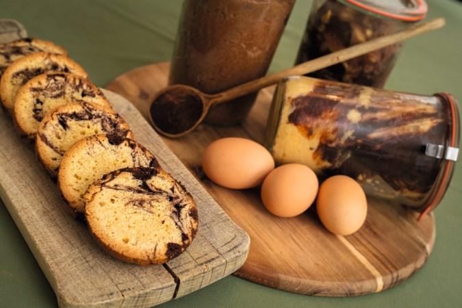Maak eens een cake in een weckpot, zoals deze van oma Annie