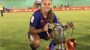 Martens en Barcelona maken opnieuw gehakt van tegenstander in honderdste wedstrijd van voetbalster