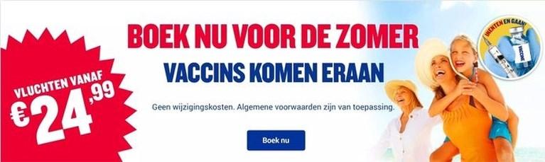 Ryanair voert campagne die aanzet tot reizen: 'Vaccins komen eraan, inenten en gaan'